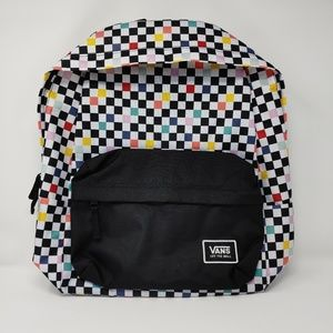 Vans Off The Wall Checkered Backpack - One Size